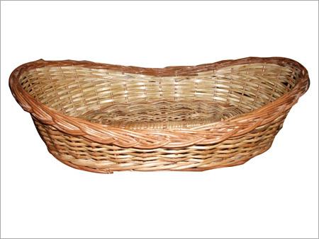 Cane-Boat-Shape-Basket