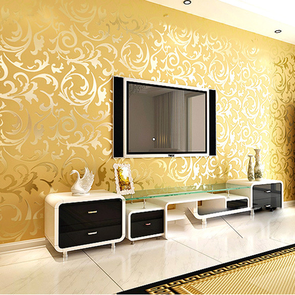 Luxury-modern-Golden-Silver-3D-wall-papers-gold-Foil-TV-background-fashion-wall-papers-home-decor