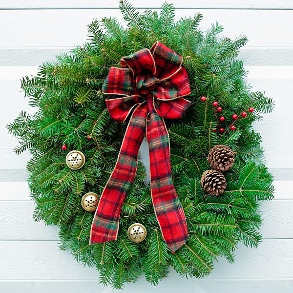 plaid-bow-wreath