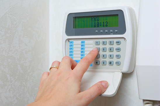 arming-disarming-home-alarm-system