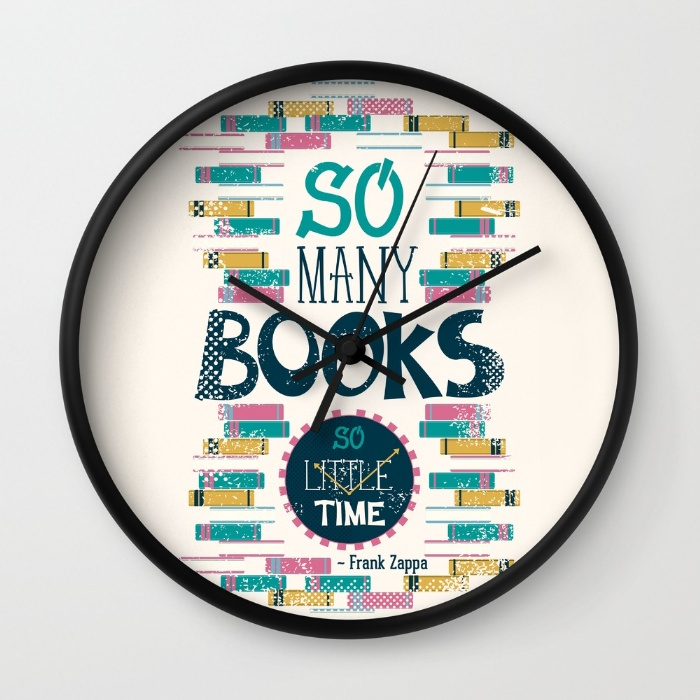 so-many-books-so-little-time-xx9-wall-clocks