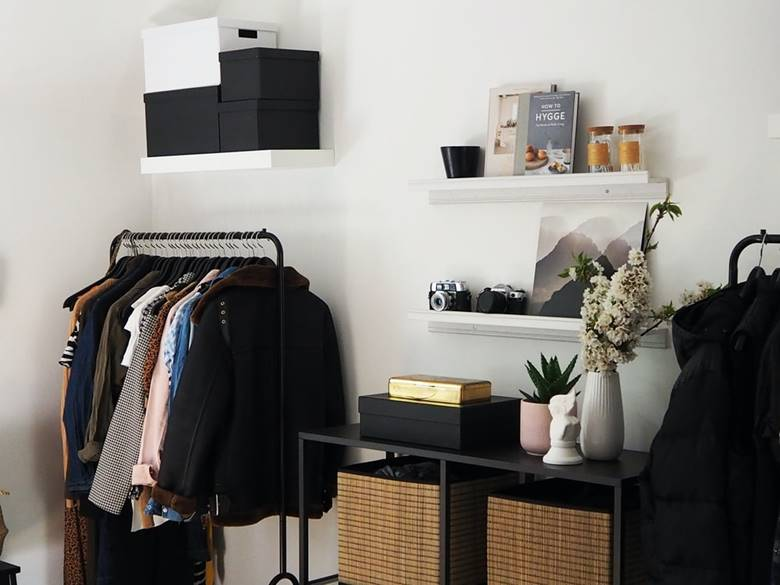 your ideal closet space