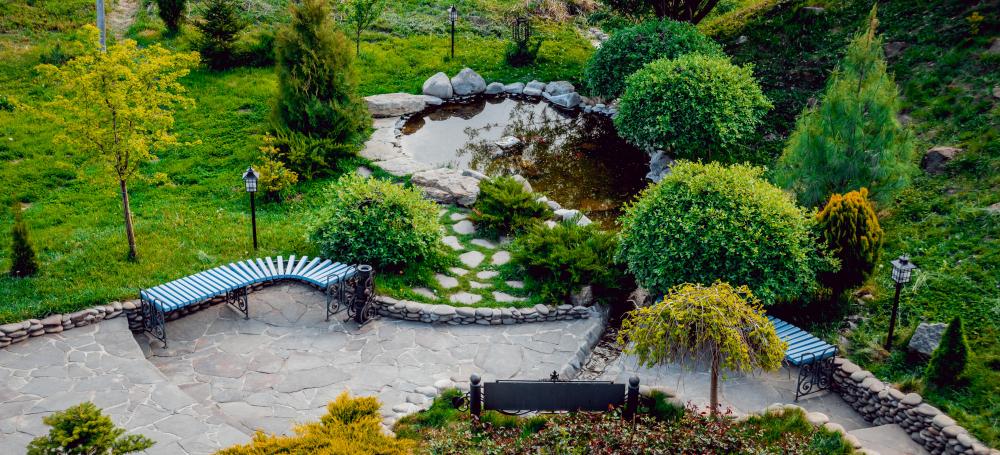 outdoor park-full-vegetation